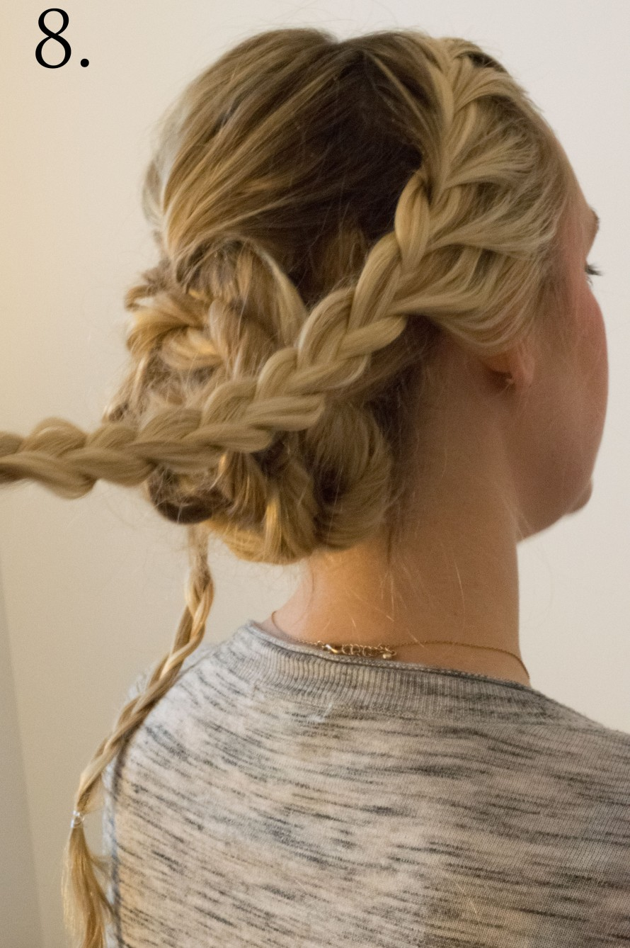 Step your hair game up this holiday season - Braided Updo
